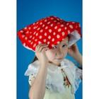 Карнавальный костюм «Мухомор», на резинке, рост 104-134 см, цвет шапки МИКС