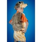 Карнавальный костюм «Ёжик», на резинке, рост 104-134 см