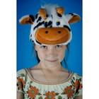 Карнавальная шапочка «Корова»