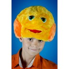 Карнавальная шапочка «Колобок»