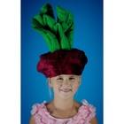 Карнавальная шапочка «Свёкла»