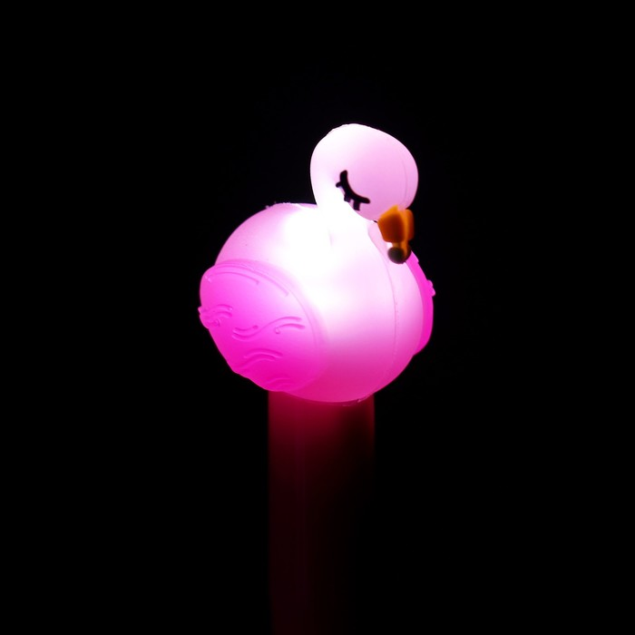 "Ручка световая ""Фламинго"", цвета МИКС"