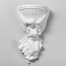 "Кашпо ""Ангел"" №6 24 х 42 см белый"