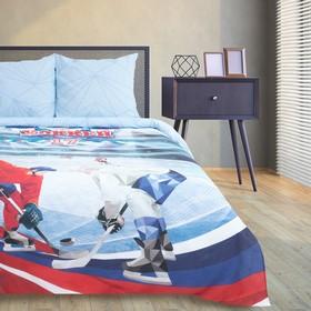 Постельное бельё Этель «Хоккей», 1.5-сп., 143 × 215 см, 150 × 214 см, 70 × 70 см (2 шт.)