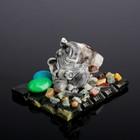 Souvenir Elephant, serpentine, marble