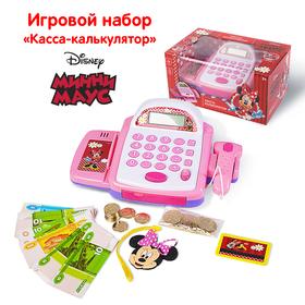 """Касса-калькулятор """"Весёлые покупки"""", Минни Маус, звук"""