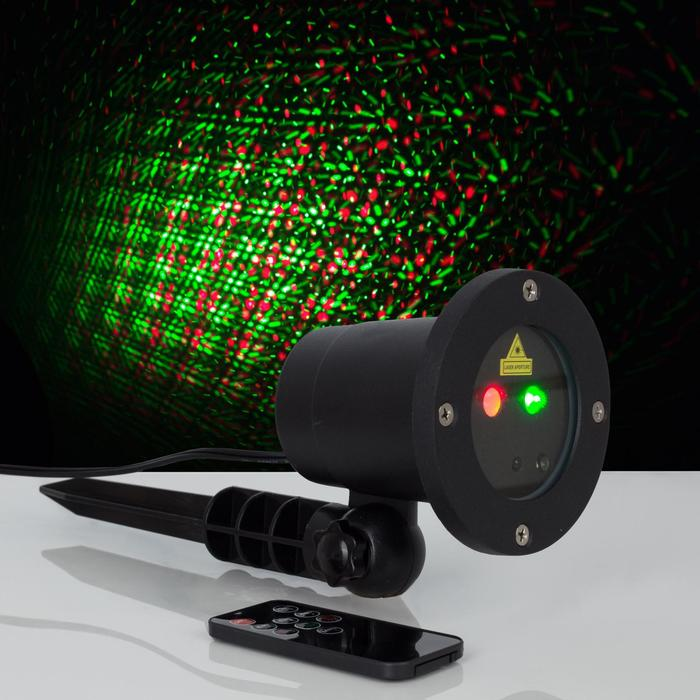 """Световой прибор """"Точки"""",  d=10 см, 5 В, IP65, лазерный, 1 картинка"""