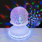 """Световой прибор """"Хрустальный шар"""", 50 LED, 220 В, БЕЛЫЙ"""