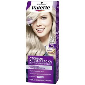 Крем-краска для волос Palette, тон A12, платиновый блонд
