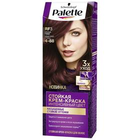 Крем-краска для волос Palette, тон RF3, красный гранат
