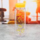 Бутылка для воды «Весёлые зверята», 600 мл