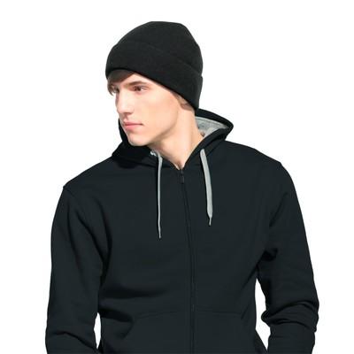 Шапка мужская StanStreet, one size, цвет чёрный