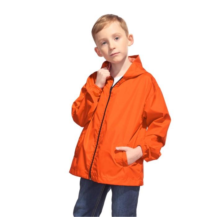 Ветровка детская StanRainJunior, рост 128 см, цвет оранжевый