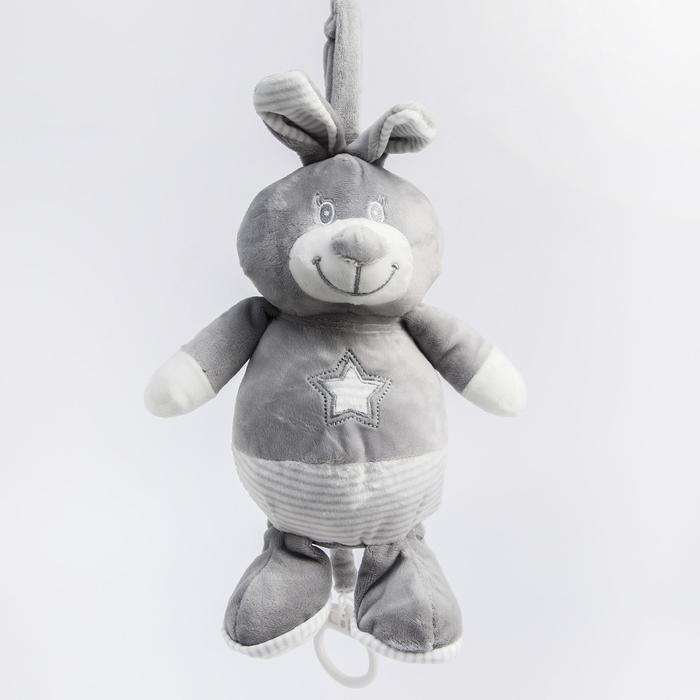 Подвеска мягкая музыкальная «Мишка Максон» на кроватку/коляску - фото 105524569