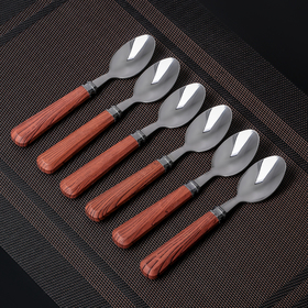 "Set of tea spoons 16 cm ""Red oak"", 6 PCs"