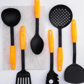 Набор кухонных принадлежностей Доляна «Оранж», 6 предметов