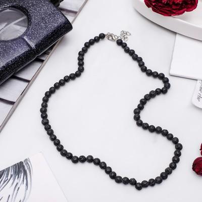 "Beads ball No. 6 ""Lava"", color: black"