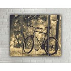"Painting on wood in the style Loft ""Cycling"" No. 3.53, 37*30 cm"