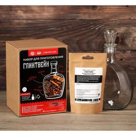 Подарочный набор для приготовления напитка «глинтвейн»: штоф 0.5 л, специи 32 г., инструкция