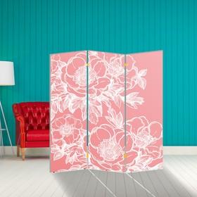 """Ширма """"Цветы"""", 160 × 150см"""