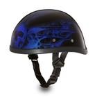 Шлем Daytona Novelty Eagle W/flames, 2XL, Multi Skull Flames Blue
