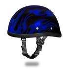 Шлем Daytona Novelty Eagle W/flames, XL, Blue