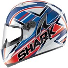 Шлем Race-R Kristo Shark, L, Бело-Сине-Красный