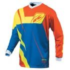 Джерси Kenny Track Limited Edition, M, Orange/blue/neon Yellow