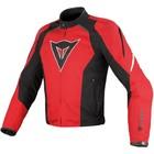 Куртка Dainese Laguna Seca Tex, 56, Rosso/nero/bianco
