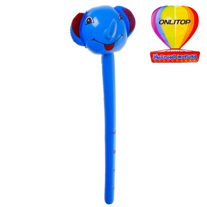 """Надувная игрушка """"Слон"""" 140 см, цвета микс"""