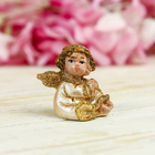 "Souvenir Polyresin ""angel in pearl dress"" MIX 4х4х3 cm"