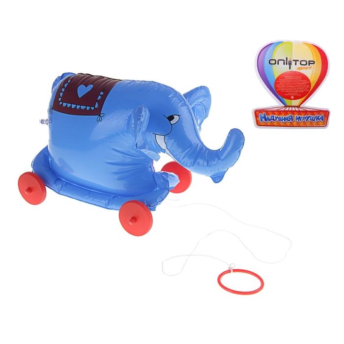 """Игрушка надувная - каталка """"Слон"""", 35 см"""