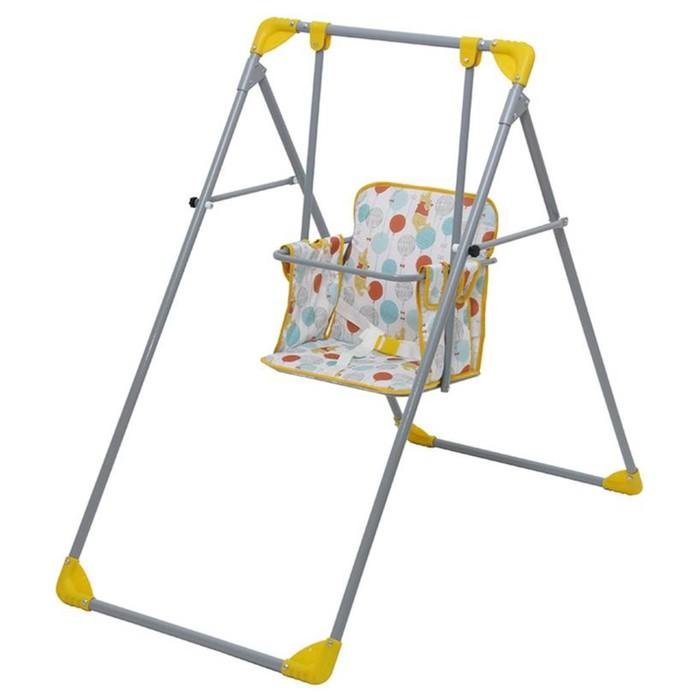 Качели Polini kids Disney baby Медвежонок Винни «Чудесный день», жёлтый