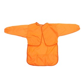 Apron-Cape with sleeves for work 610*440 Calligrata 3 pockets, orange