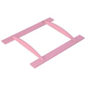 Рамка на пеленальный комод  Polini kids Disney baby 5090 «Минни Маус-Фея», розовая