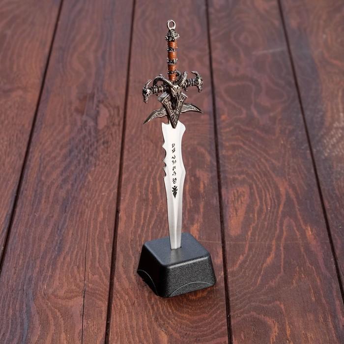 Сувенирный меч на подставке, 8,5 × 3,5 × 27 см