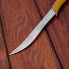 Сувенирный нож, светлое дерево с золотыми вставками 29 см - фото 4678055