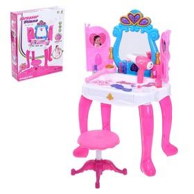 Столик с зеркалом «Милашка» с пианино и аксессуарами