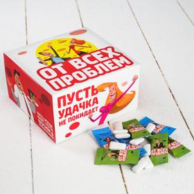 Жевательная резинка «От всех проблем»: с мятным вкусом, 100 шт. в Донецке