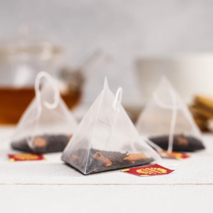 """Чай чёрный в пирамидках """"Любимому учителю"""""""