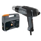 Фен технический Steinel HG 2120 E 006464, 2200 Вт, 80-630 °C, 150-500 л/мин, 9 реж., насадки   41029