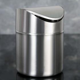 Ведро мусорное «Классика», 12×12×6 см