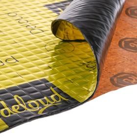 Виброизоляционный материал deloud Demfer 4.2, размер: 4.2х500х500 мм