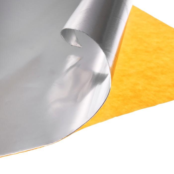 Виброизоляционный материал deloud Front 0.4, размер: 0.4х500х500 мм