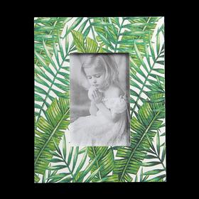 """Фоторамка дерево 10х15 см """"Пальмовые листья"""" 24,7х19,6х1 см"""