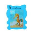 "Puzzle-tag ""seahorse"", colors MIX"