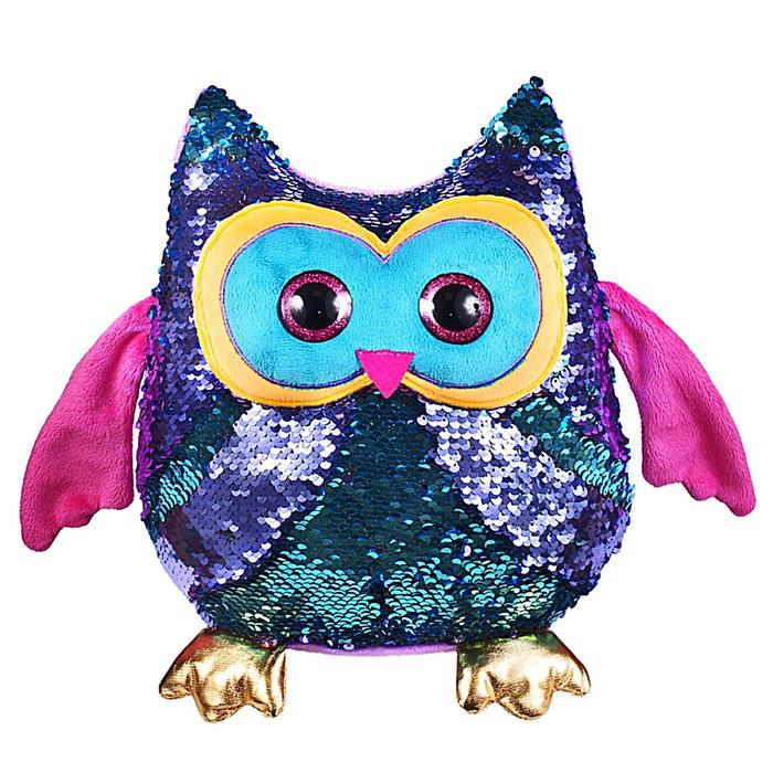 Мягкая игрушка «Сова Вивьен», 26 см - фото 105609923