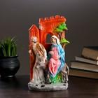 "Фигура ""Мария и Иосиф"" 27х16см ПОЛИСТОУН"