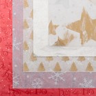 Бумага тишью «Новогоднее ассорти №2», набор 5 шт., 50 х 76 см, микс