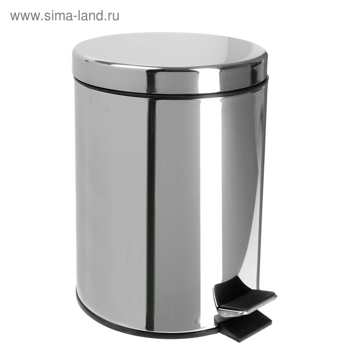 Garbage can, 5 liter, stainless steel price REDUCTIONS